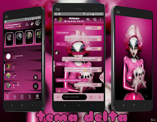 Girl At Dog Theme For YOWhatsApp & Delta WhatsApp By Ale