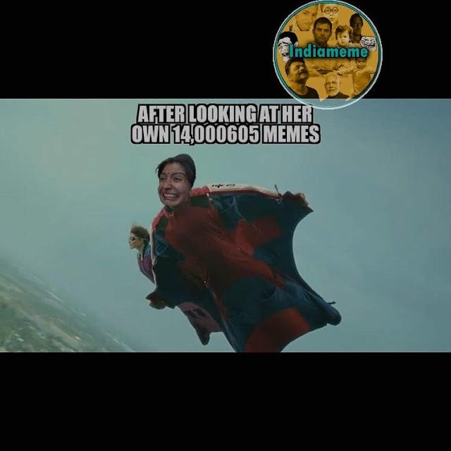 Anuskha Sharma Meme Trending All Over Social Sites || Bollywood Meme