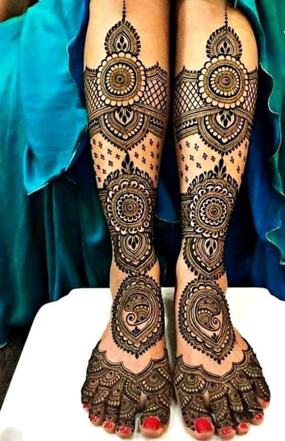 Bridal Mehndi Design For  Wedding
