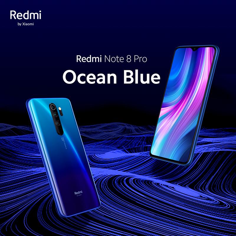 """Xiaomi intros """"Ocean Blue"""" Redmi Note 8 Pro colorway"""