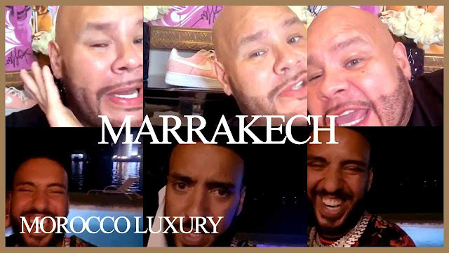 🌴🇲🇦 French Montana and Fat Joe sharing stories about Marrakech, Morocco