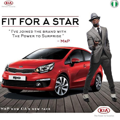 Peter Okoye unveiled as the new face of Kia Motors