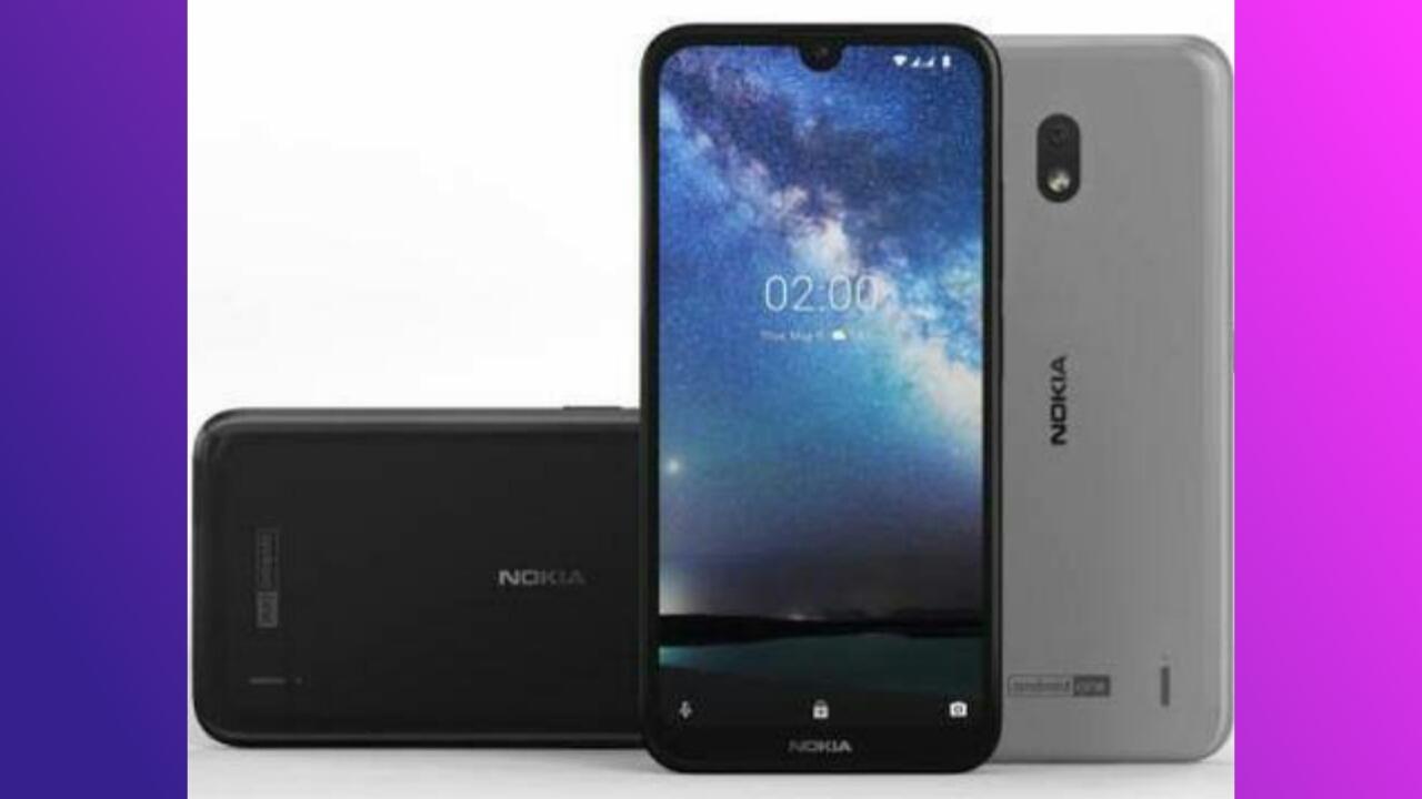Cara Screenshot Nokia 2.2