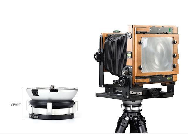 Sunwayfoto DYH-68 Leveling Base with LF camera
