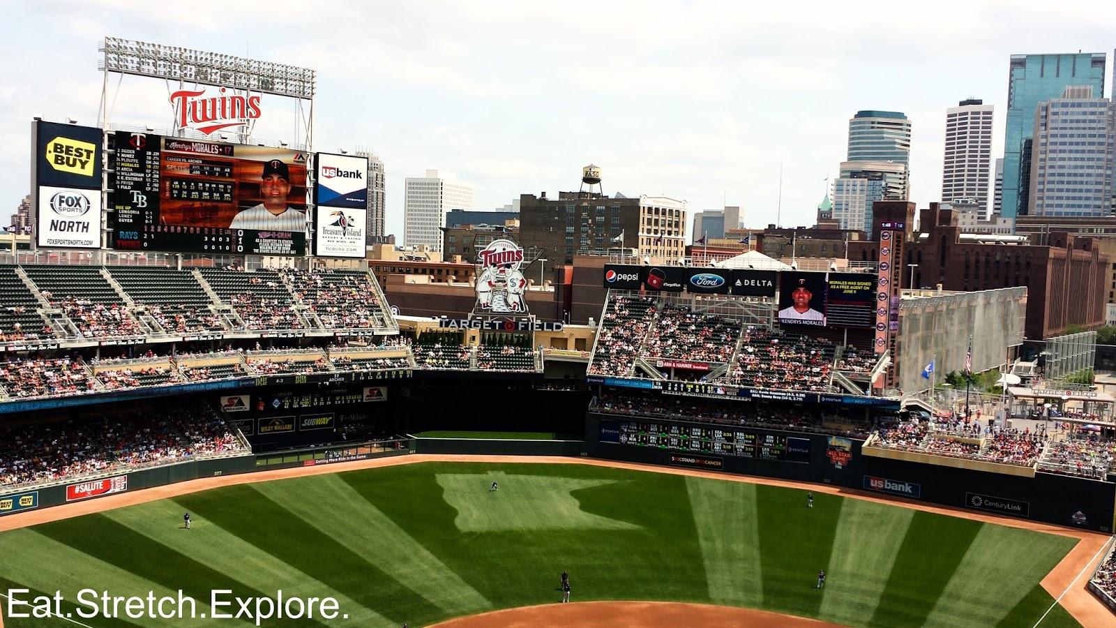 Minneapolis Mn Metropolitan Club At Target Field Season