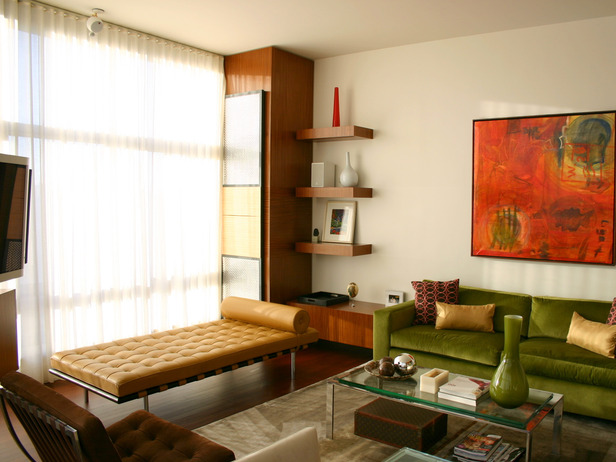 2013 Modern Neutral Living Rooms Decorating Ideas Modern