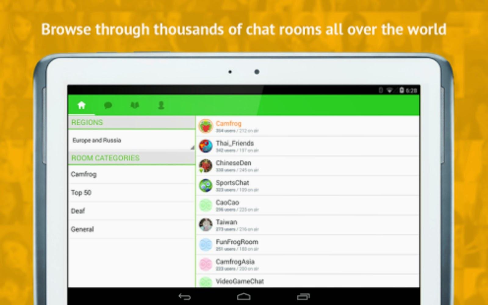 Camfrog Pro Android