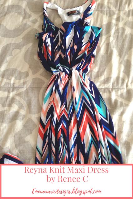 Reyna Knit Maxi Dress by Renee C @ emmamariedesigns.blogspot.com
