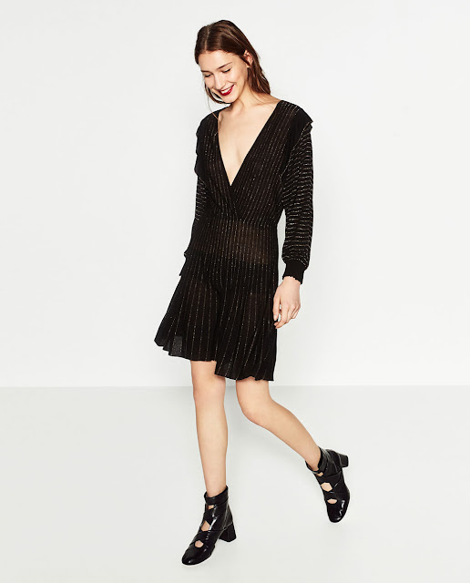 Zara Short Shimmer Dress