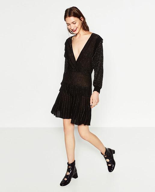 Zara Short Shimmer Dress