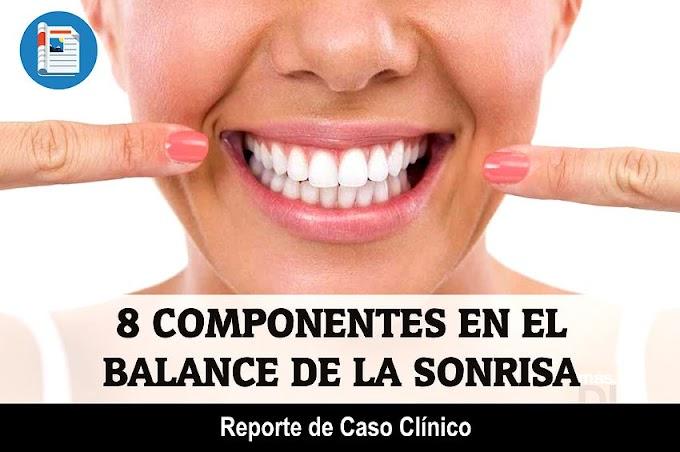 CASO CLÍNICO: 8 componentes en el balance de la Sonrisa - Reporte de Caso Clínico