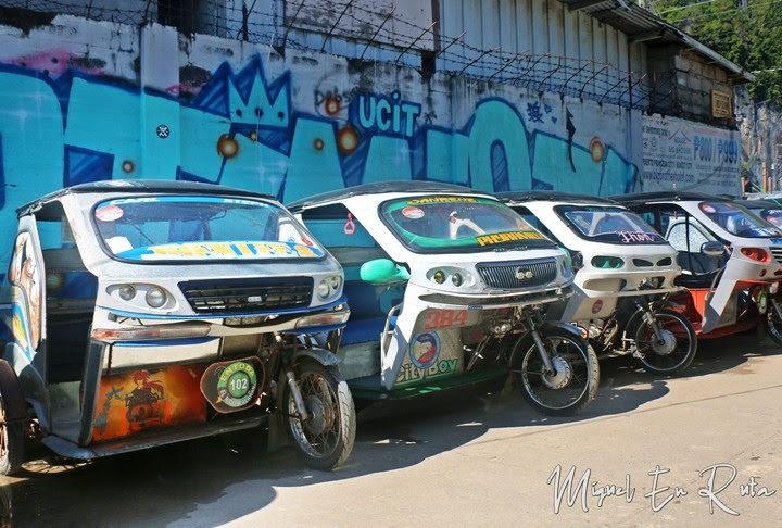 Vehículos-isla-Palawan