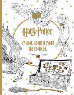 Movie Treasures By Brenda Harry Potter Coloring Books