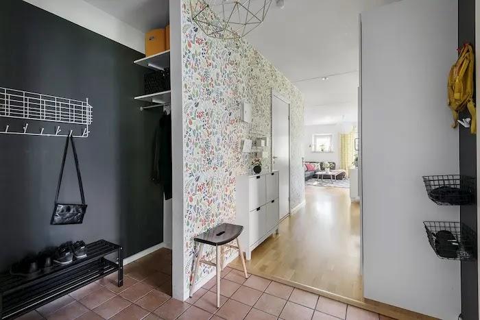 Hall con espacio de vestidor