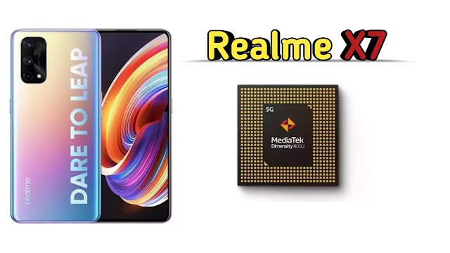 Realme X7 Series smartphone with MediaTek Dimension 800U chipset will be launched in India soon.