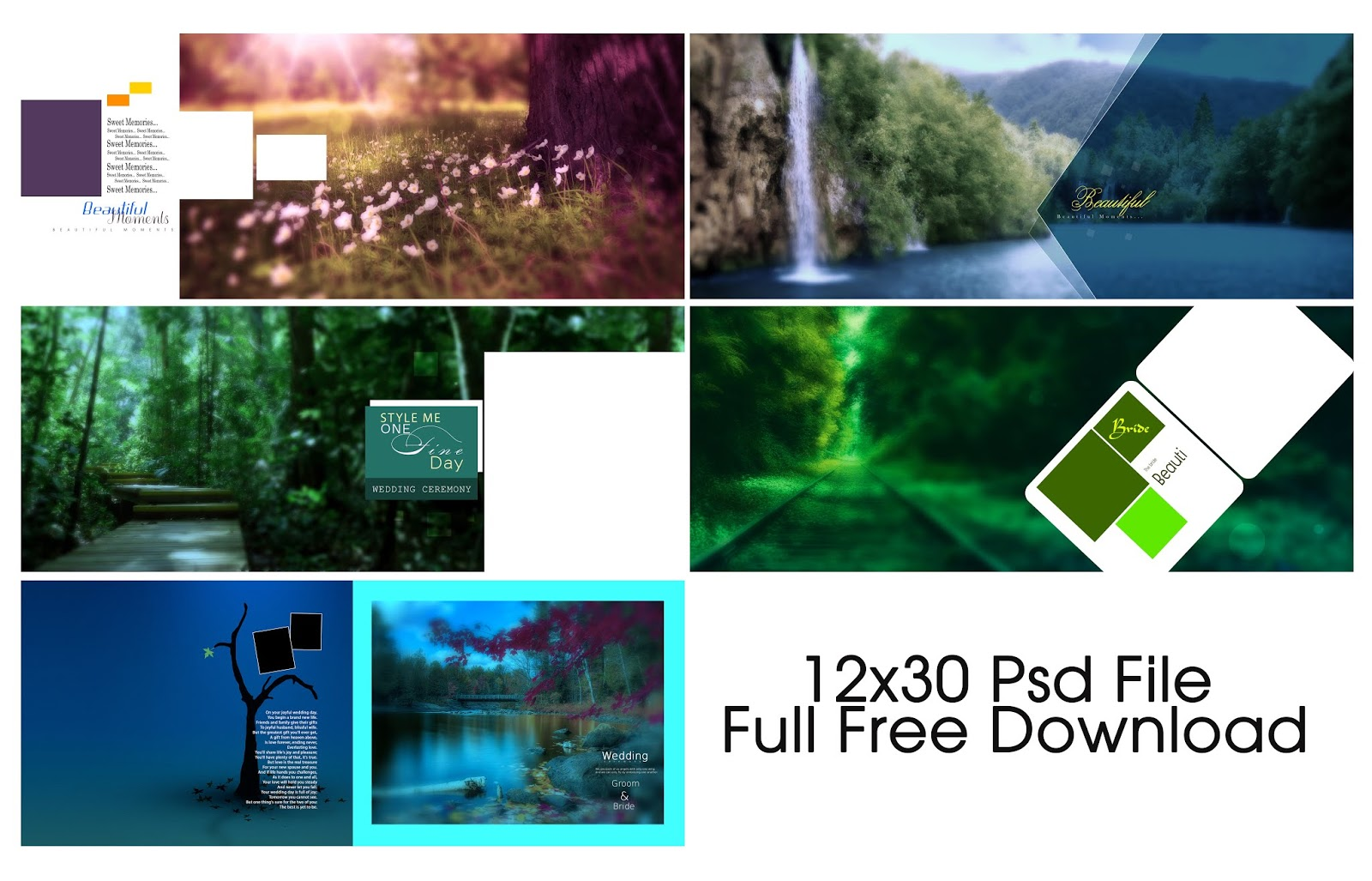 Nature Backgrounds, Psd File Free Download - Tamil Wedding