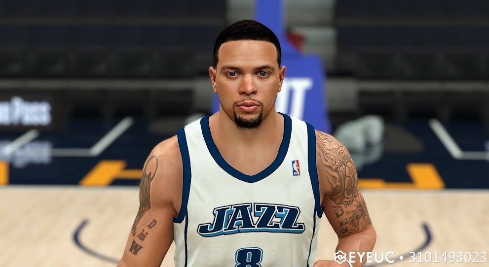 Deron Williams 08-09 Cyberface and Body Model By 3101493023 [FOR 2K21]