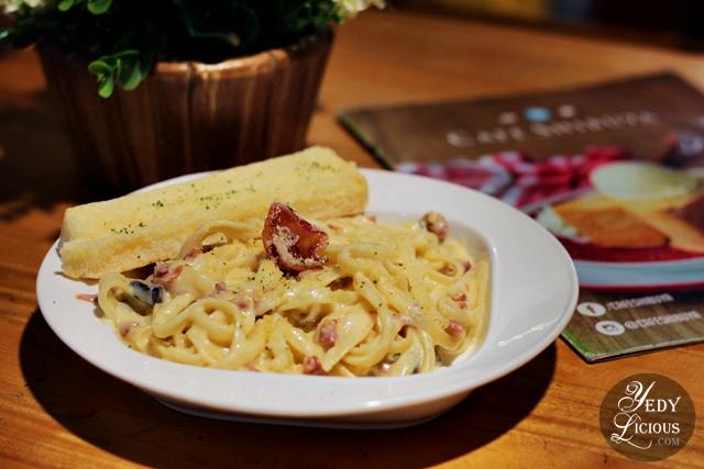 Truffle Pasta, Cafe Shibuya SM Megamall Blog Review, Cafe Shibuya Branches at SM Megamall, Glorietta 2, Trinoma, SM North Edsa The Block, New Menu, Price, Promo, Address, Location, Contact No., Delivery, Website, Facebook, Instagram, Twitter, YedyLicious Manila Food Blog, Yedy Calaguas