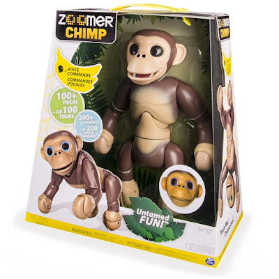 TOYS : JUGUETES - ZOOMER chimp  Chimpancé | Interectivo   A partir de 5 años  Comprar en Amazon España & buy Amazon USA