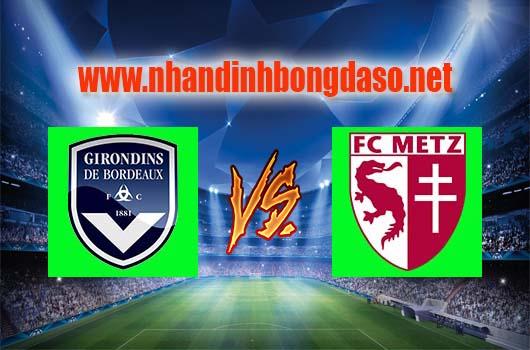 Nhận định bóng đá Bordeaux vs Metz, 01h00 ngày 09-04