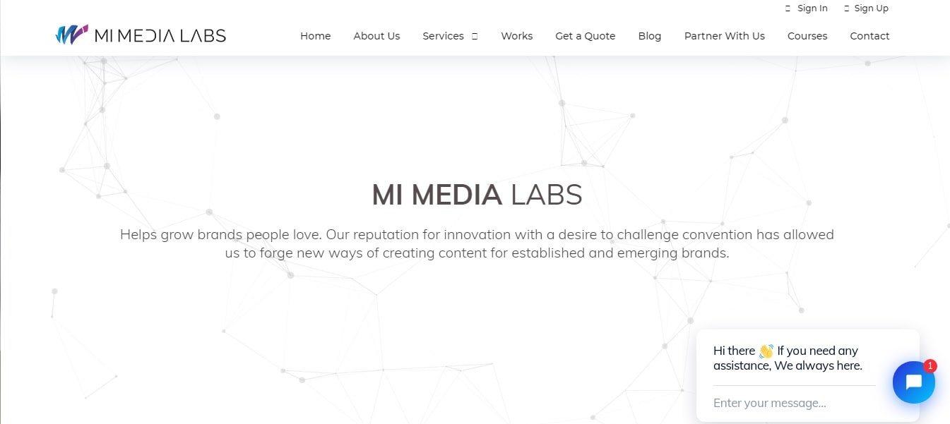 Mi Media Labs - Digital Marketing Company