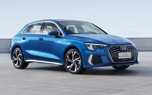 Novo Audi A3 Sportback 2022 - China
