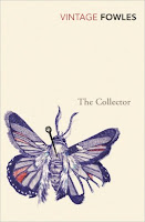 Vintage edition book cover of The Collector by John Fowles
