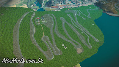 pista de drift para gta sa drift track map stelvio pass mechanic
