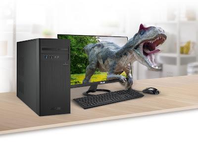 Asus Luncurkan Desktop S340MC Dengan Layar 4K UHD ?