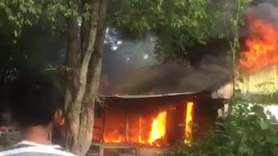 BREAKING NEWS: Kebakaran Terjadi di Jalan Sambaloge Baru Bone