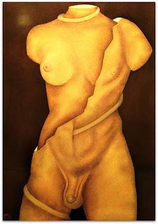 Loide Schwambach - Série Corpos - Hermafrodita