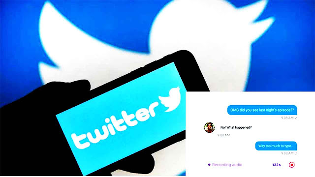 ميزة جديدة الرسائل الصوتية تختبرها شركة Twitter