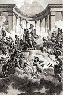 Mitologi dan Pemberian Nama Planet - pustakapengetahuan.com