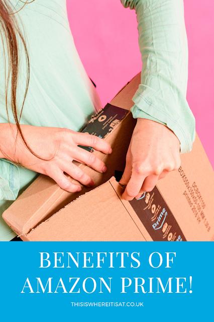 Benefits of Amazon Prime!
