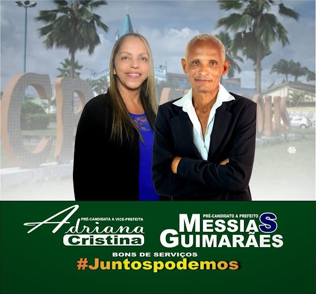 Cristinápolis: Pré-candidato Messias Guimarães escolheu uma mulher para vice