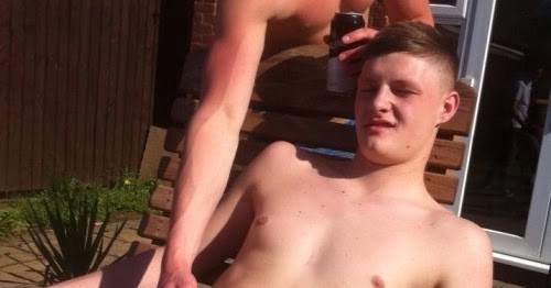 Gay outdoor jerkoff for the gay scally boy
