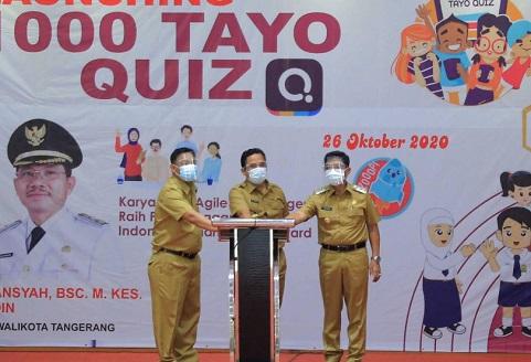 Kota Tangerang Luncurkan 1.000 Tayo Quiz, Hindari Bosan Belajar Daring