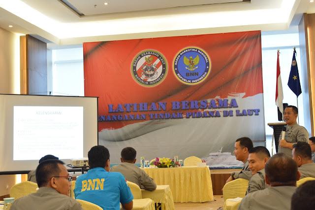 Bakamla RI/IDNCG dan BNN Kolaborasi Tangani Tindak Pidana Narkotika di Laut