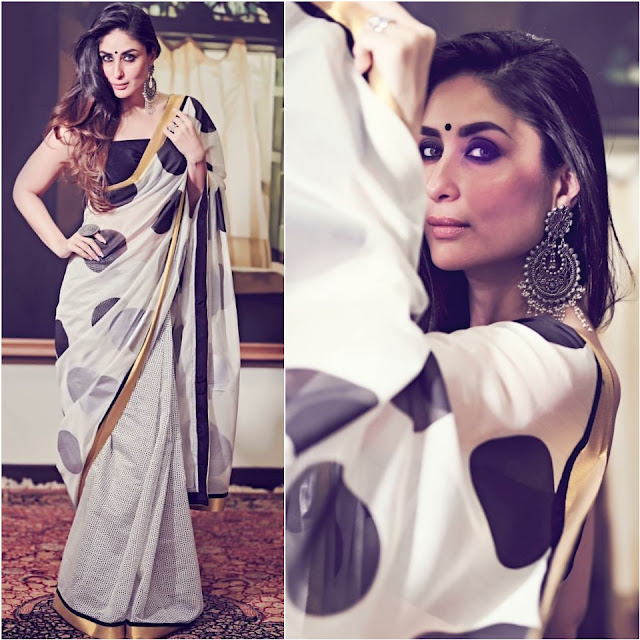 Kareena Kapoor's Sari Looks on diwali-1