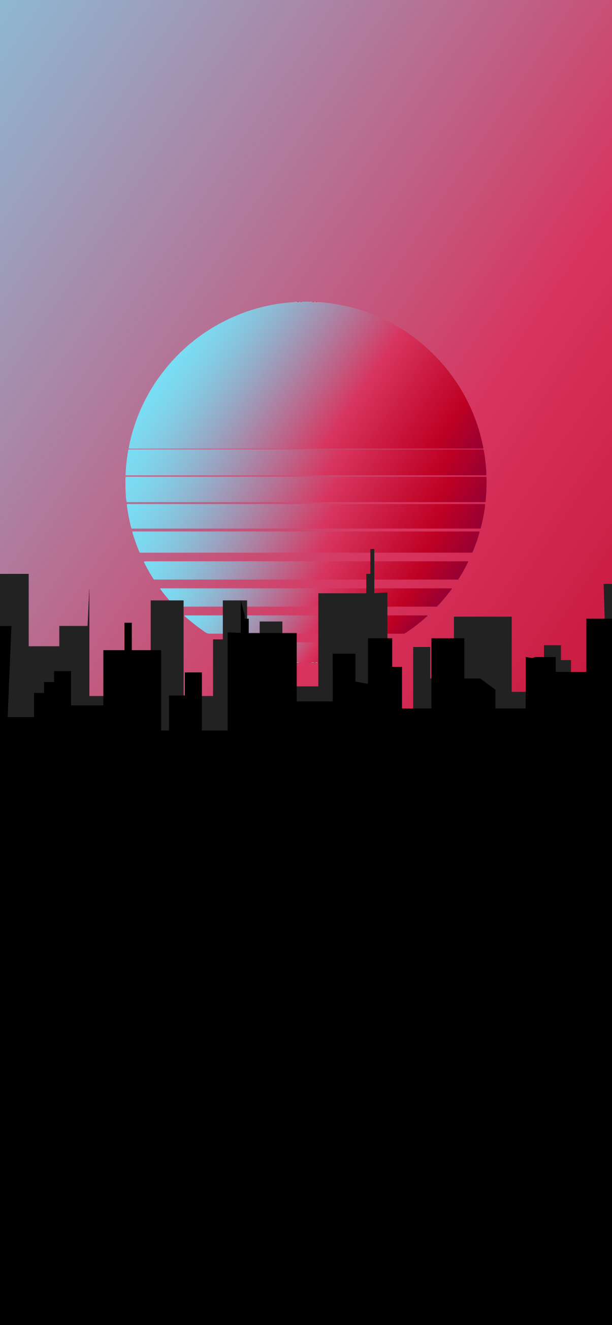 amoled city oled black wallpaper for iphone minimalist synthwave