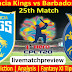 Today Match Prediction-Saint Lucia Kings vs Barbados Royals-CPL T20 2021-25th Match-Who Will Win (livematchpreview)