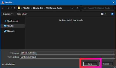 Croben.com Extract Audio Using VLC Step 11