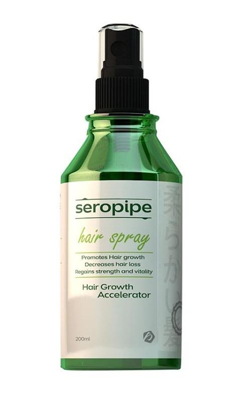 """""""سبراي سيروبايب"""" لعلاج تساقط الشعر """"Seropipe Spray"""""""