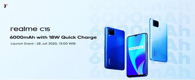 Realme C15 Launch on 28 July 6,000mAh Battery के साथ होगा लैस