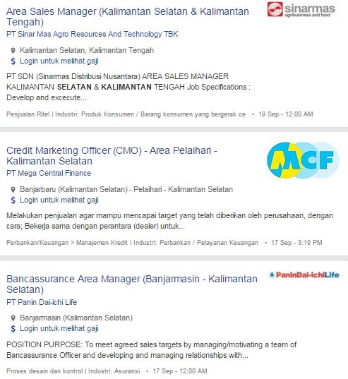 Bulan Ini – Lowongan Kerja Banjarbaru Terbaru 2019