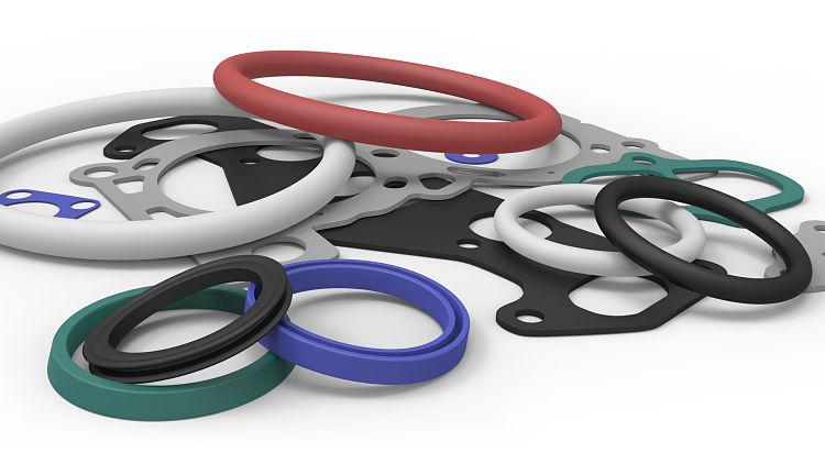 Empaquetaduras hechas con elastómeros