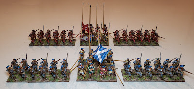 Warlord Games Scots Covenanters and Sir Ralph Hopton's Regiment