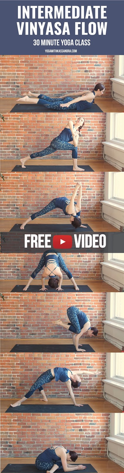 If you are a yoga teacher looking for some motivation to mix up your personal yoga practice, or an intermediate student who just wants to spice up your home flows, give this sequence a go.