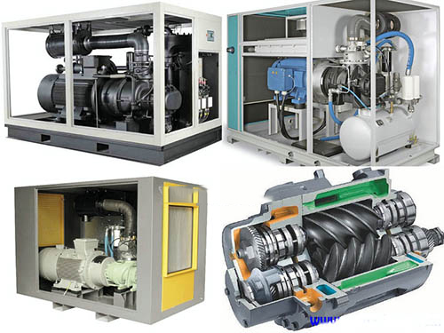 Tìm hiểu nguyên lý hoạt động của máy nén khí trục vít