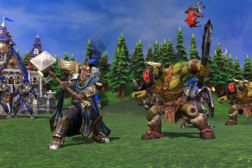 """Warcraft III và các vị tướng giống như """"lên cấp"""" khiến cho game Play đa dạng hơn nhiều"""